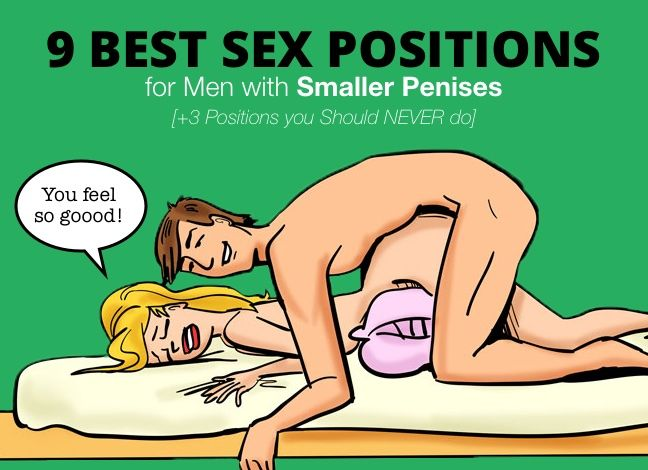 Sex positions for small men
