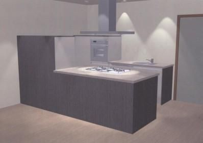 Ideeen Renovatie Keuken : Kleine woonkamer met open keuken kleine keuken renoveren