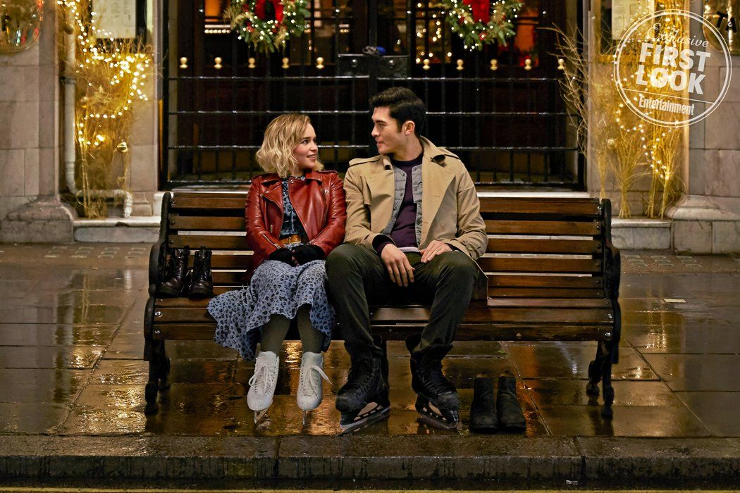 Emilia Clarke and Henry Golding in love! Exclusive peek at