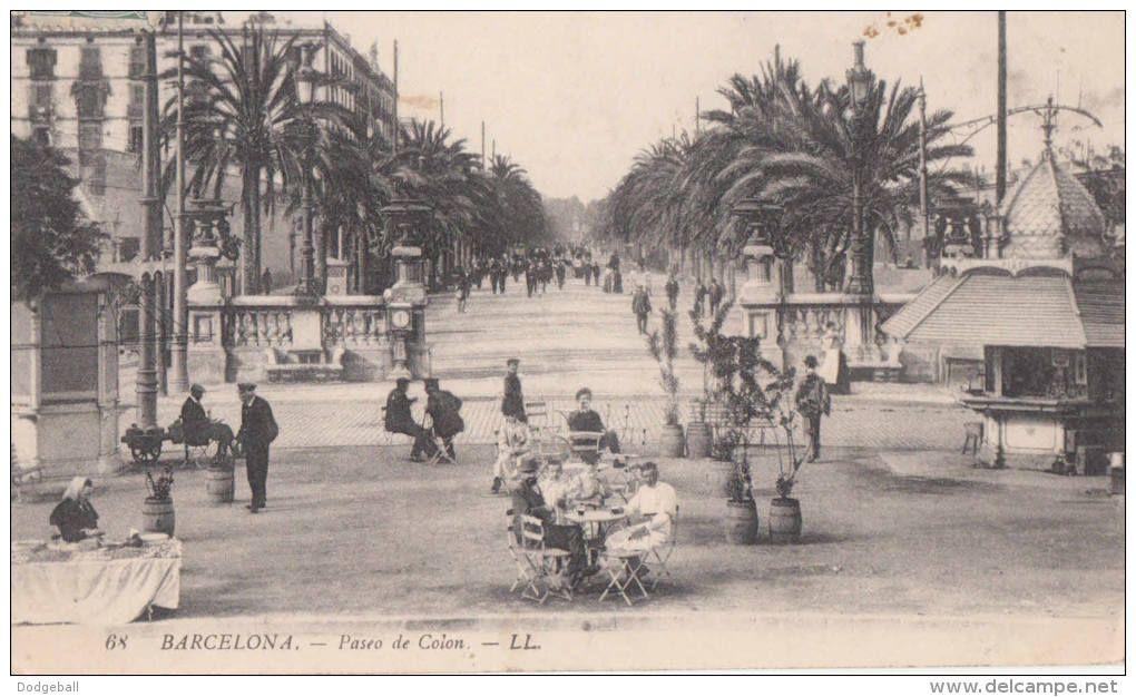 paseo colon barcelona - Delcampe.net