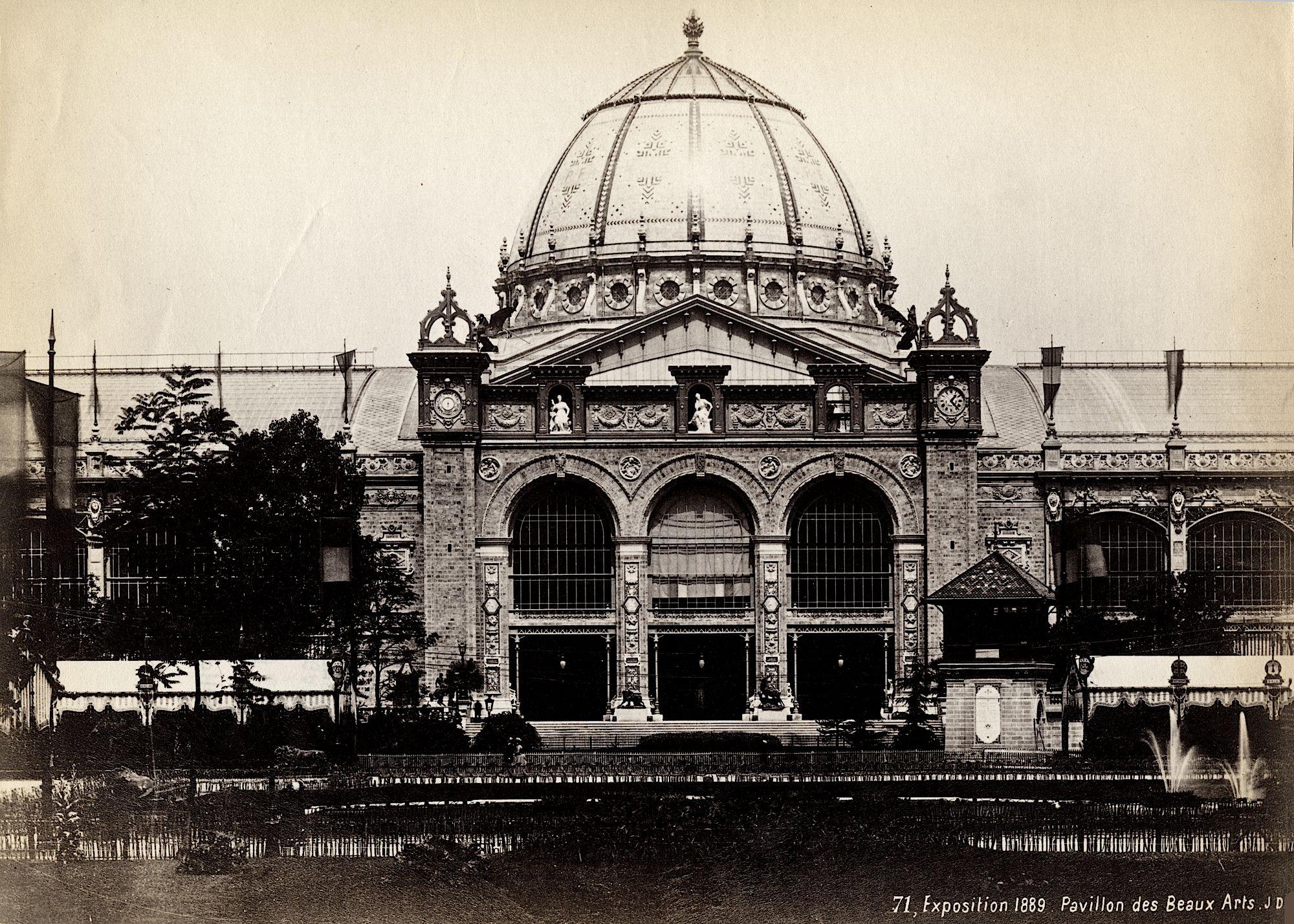 Exposition Universelle In Paris .1889 Beaux Arts