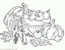 Autumn Harvest coloring page.   Monster coloring pages ...