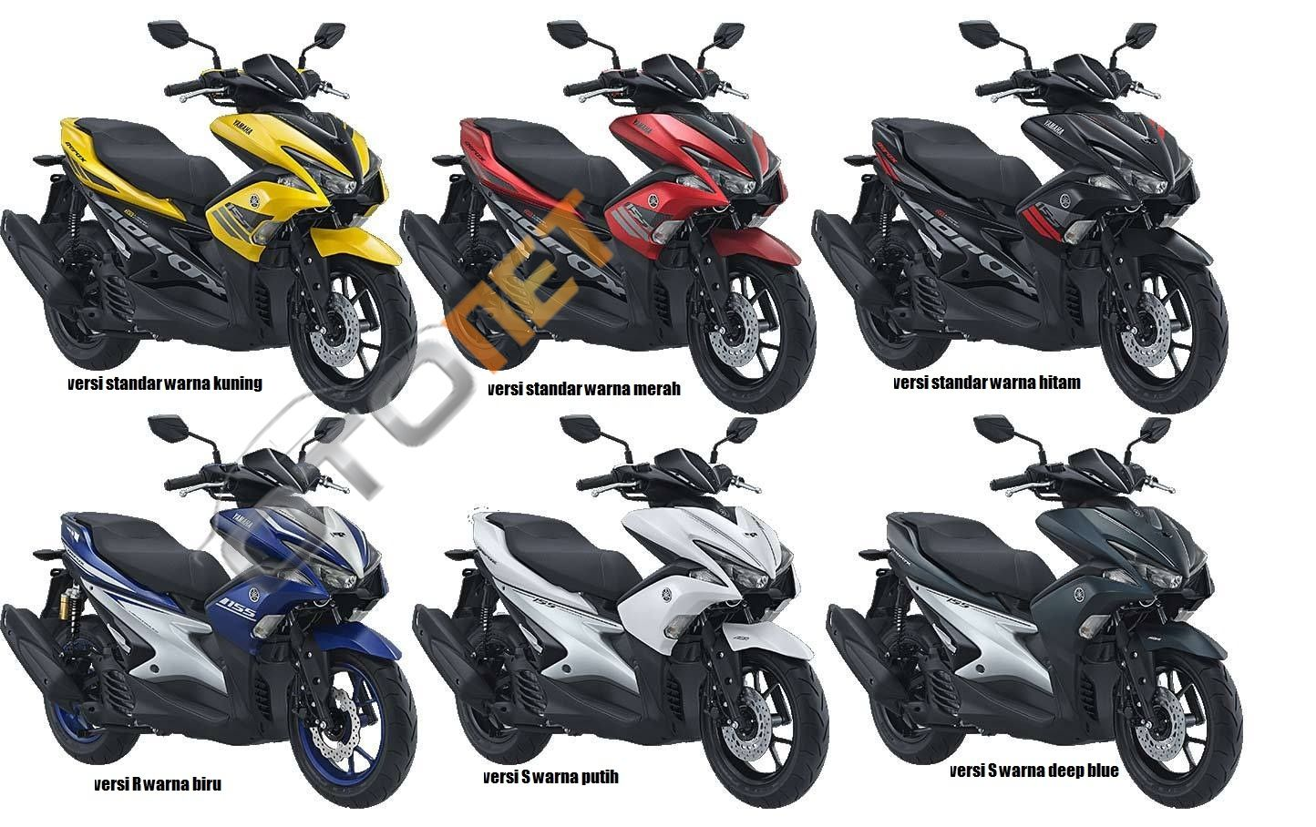 Harga SparePart Yamaha Aerox 155 Ori Agustus 2018 Motor