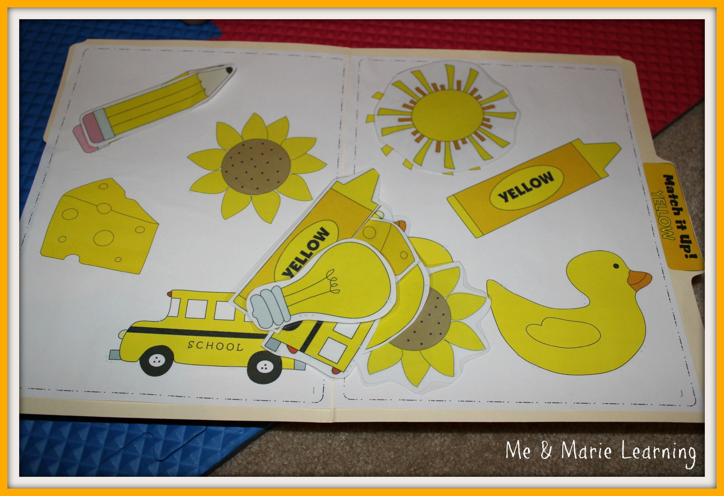 Yellow Color Activity