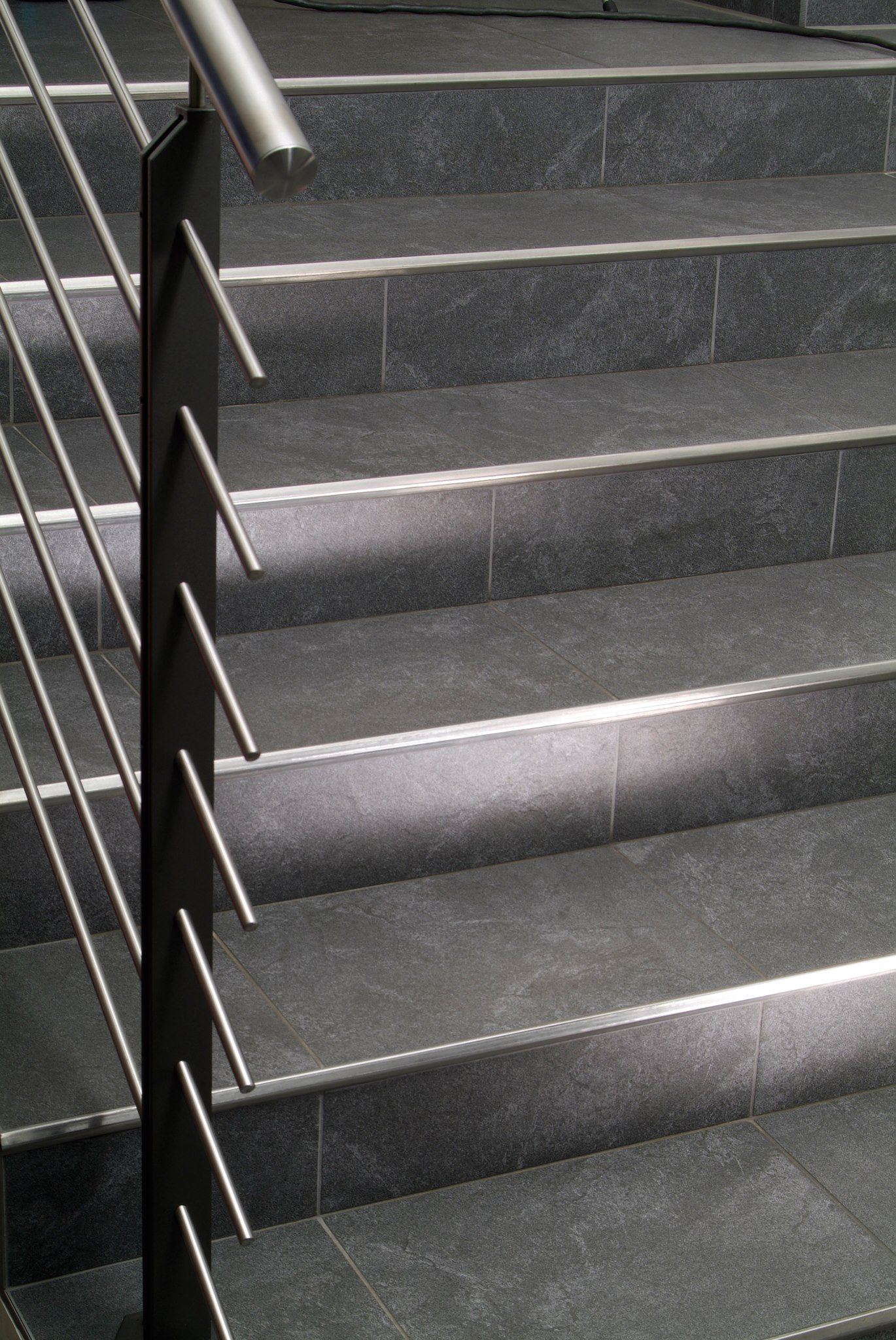 "#Blanke #StairNose gives a #modern ""edge"" to your #tiled # ..."