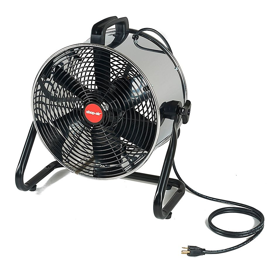 Shop Air 14 Stainless Steel Floor Fan With Stand Air