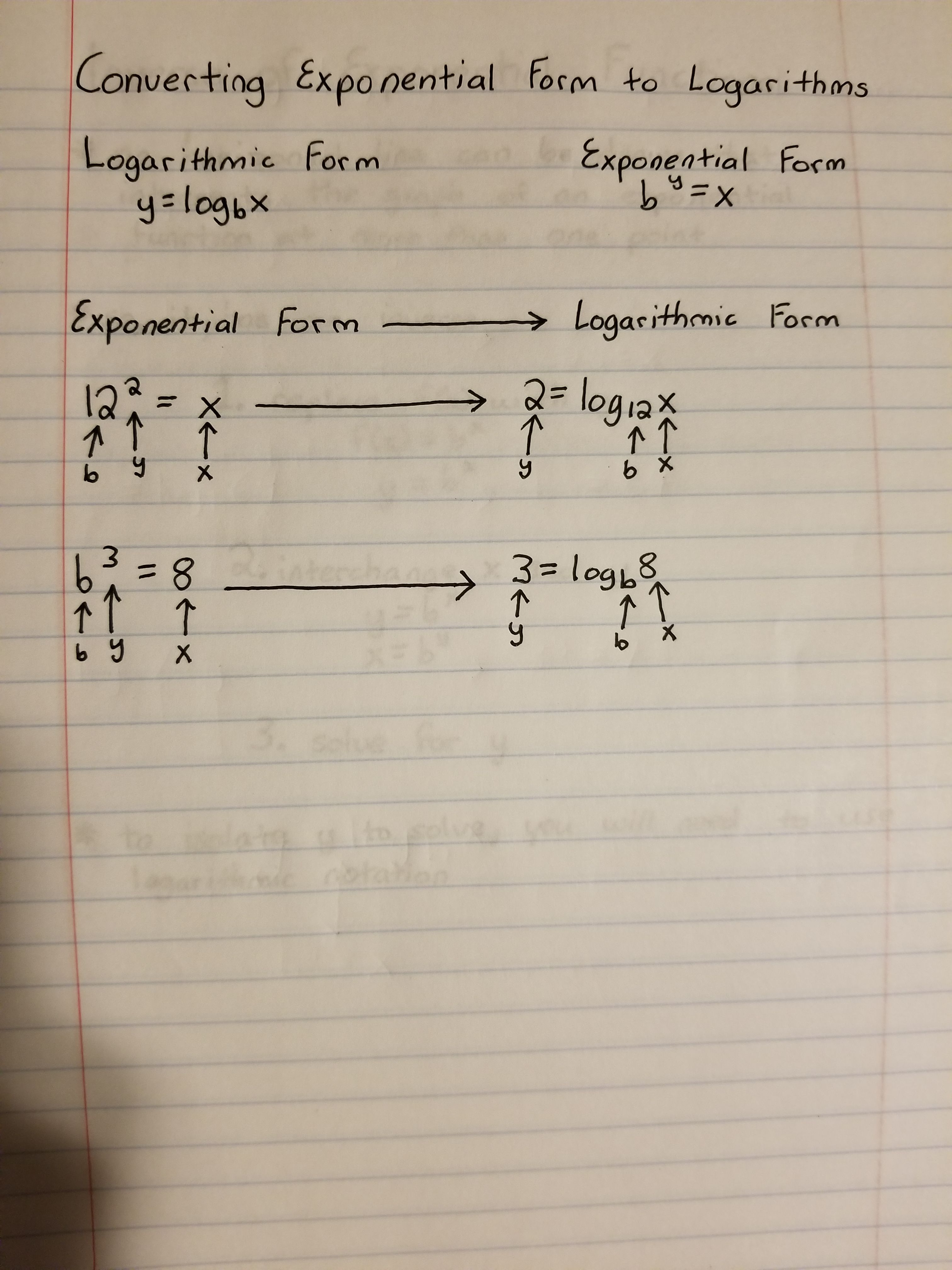 Rewrite Logarithmic Equation In Exponential Form Maze