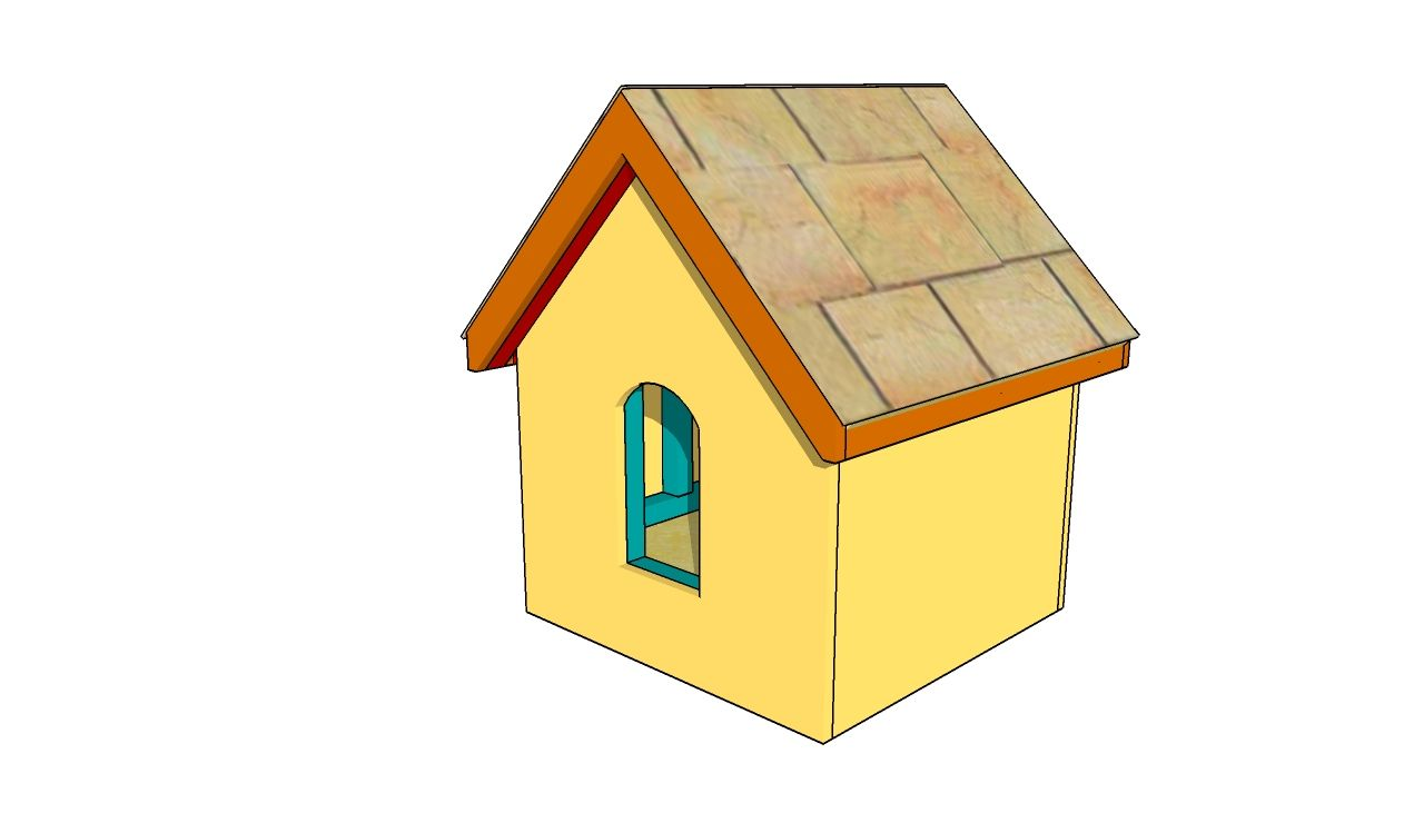Small Wood Projects Free Plans Small Dog House Plans