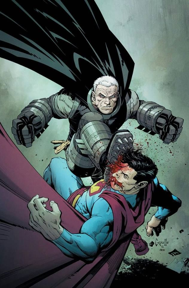 The Dark Knight vs The Man of Steel Art by Greg Capullo