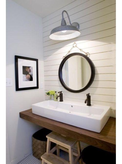 Top lavandino per bagno in legno colore noce teak 120x40x5 ...