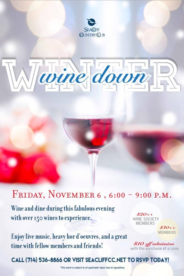 Winter Wine event template Wine Dinner   Event Pinterest - winter flyer template