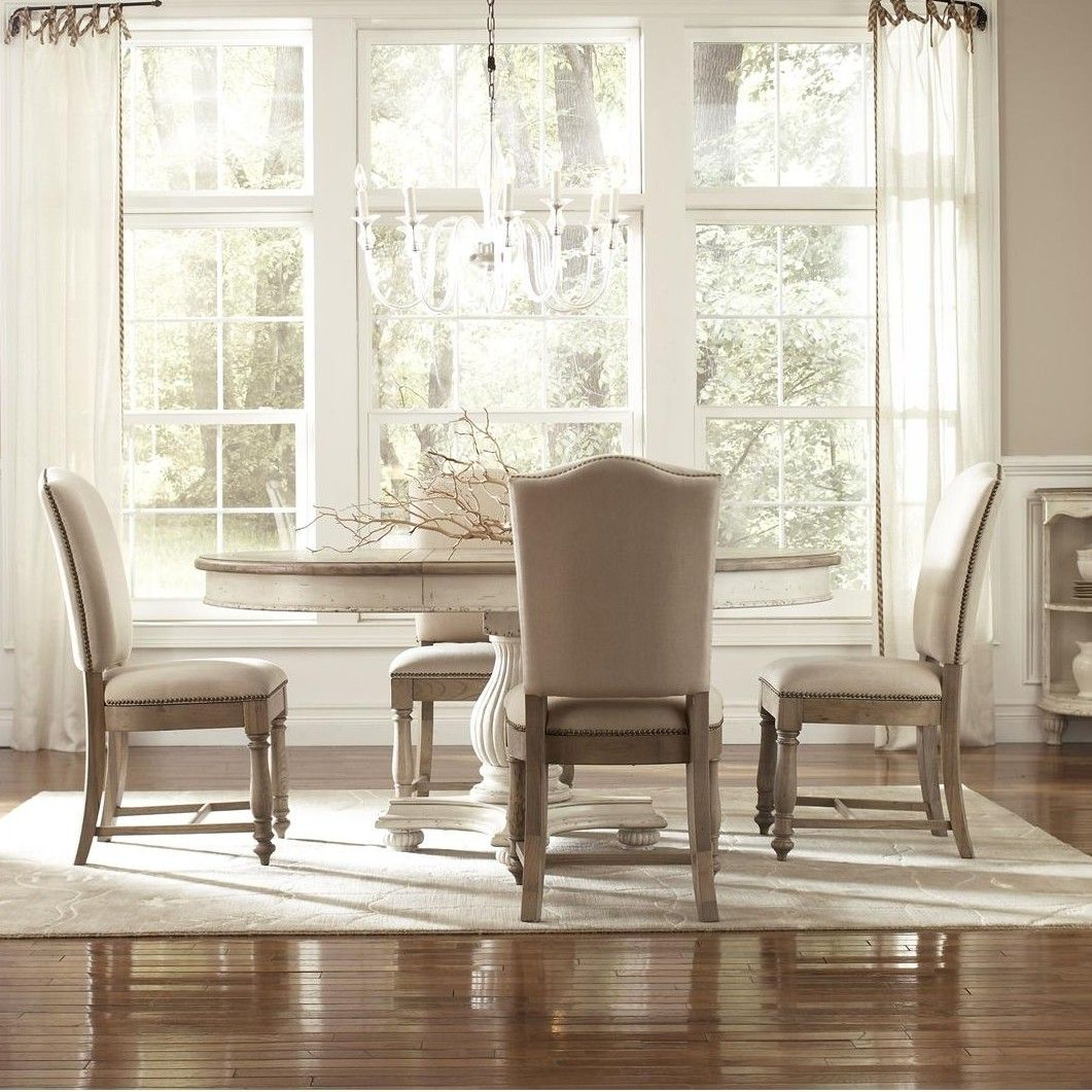 DINING SPACE // Coventry Two Tone 5 Piece Dining Set | Wayfair