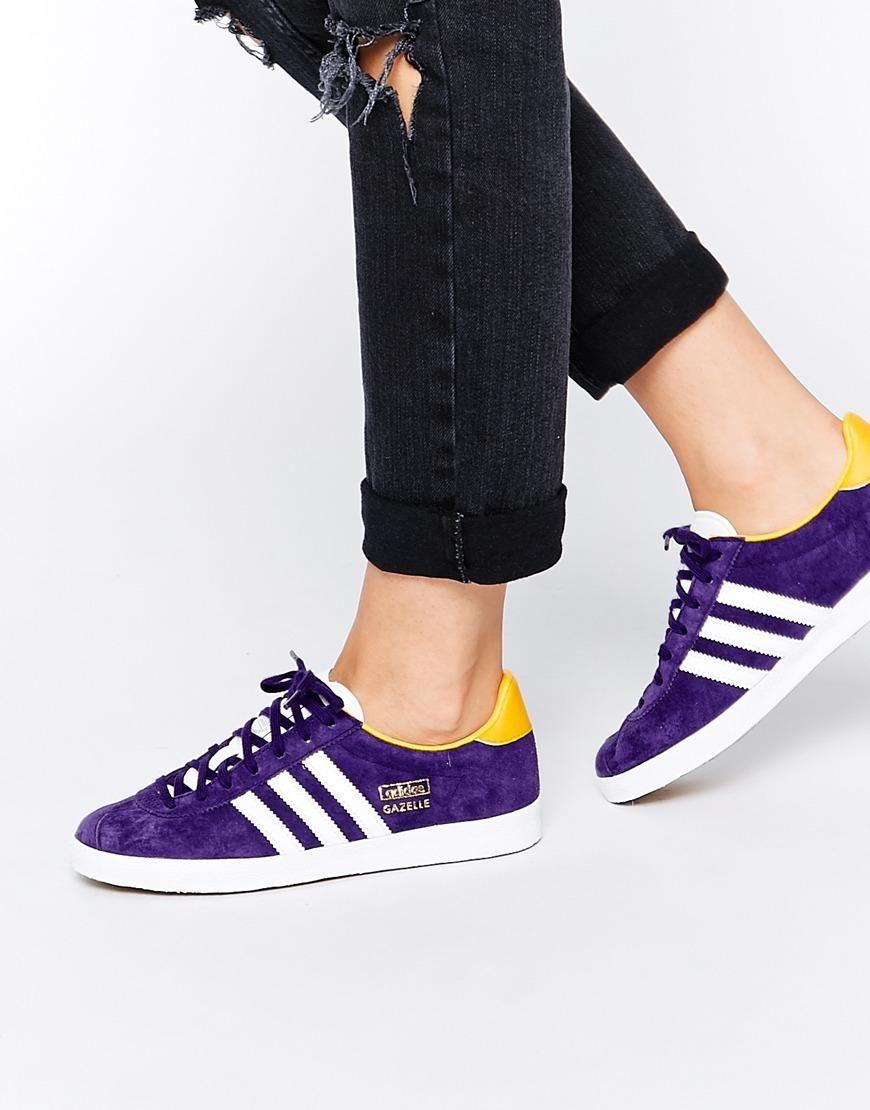 Adidas Adidas Gazelle OG Dark púrpura zapatos de formadores en ASOS