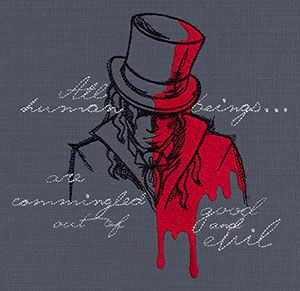Haunted Tales - Dr. Jekyll and Mr. Hyde | Urban Threads: Unique and Awesome Embroidery Designs