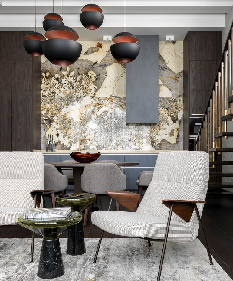 kristina uspenieva emphasizes luxury at a penthouse apartment in rh pinterest com