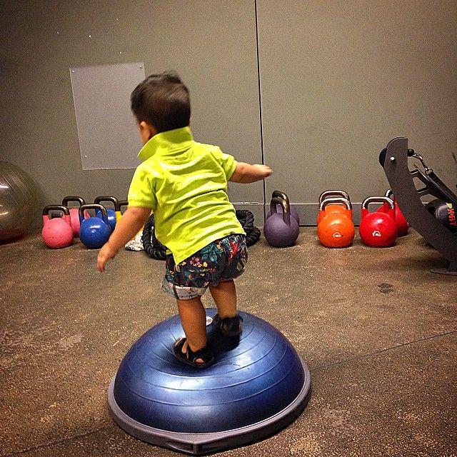 healthy #lifestyle #children #kids #fitness #fun #BOSU | Ejercicios, Trx, Niños