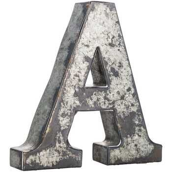 Silver Metal Letter - A