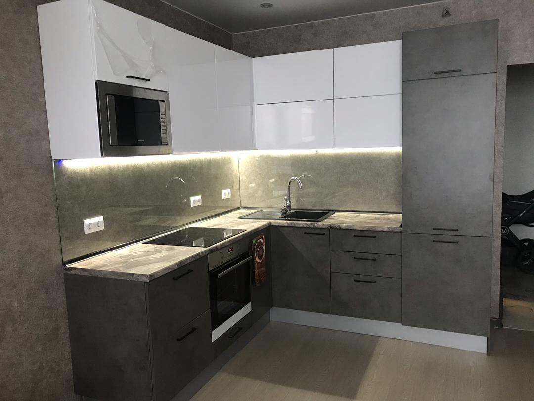 кухонные фасады бетон купить