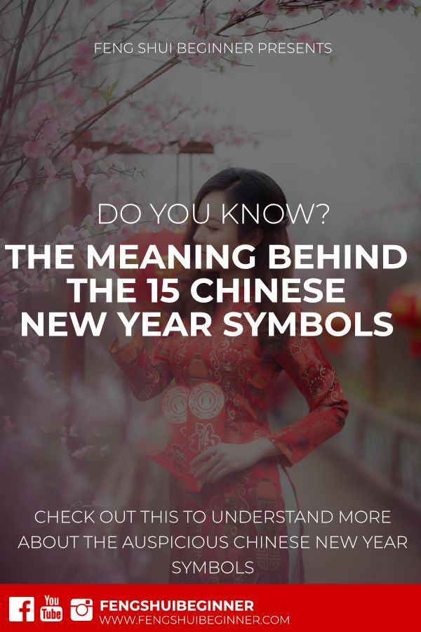 Do It Yourself Word Symbols And: Do You Know The Meaning Behind Each Chinese New Year Lucky
