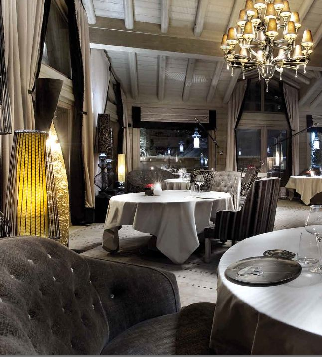 Le K2 Hotel | Courchevel Love the colors | Dining Room | Pinterest ...