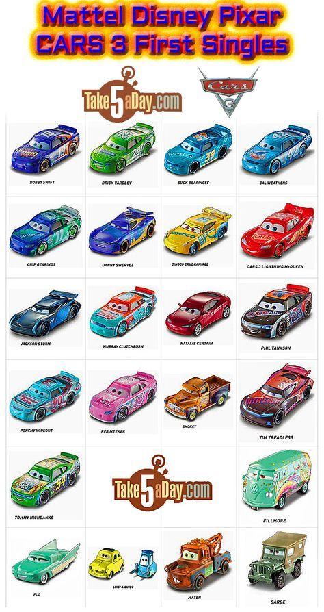 Mattel Disney Pixar Cars 3 It S Here Diecast Singles Going Steady