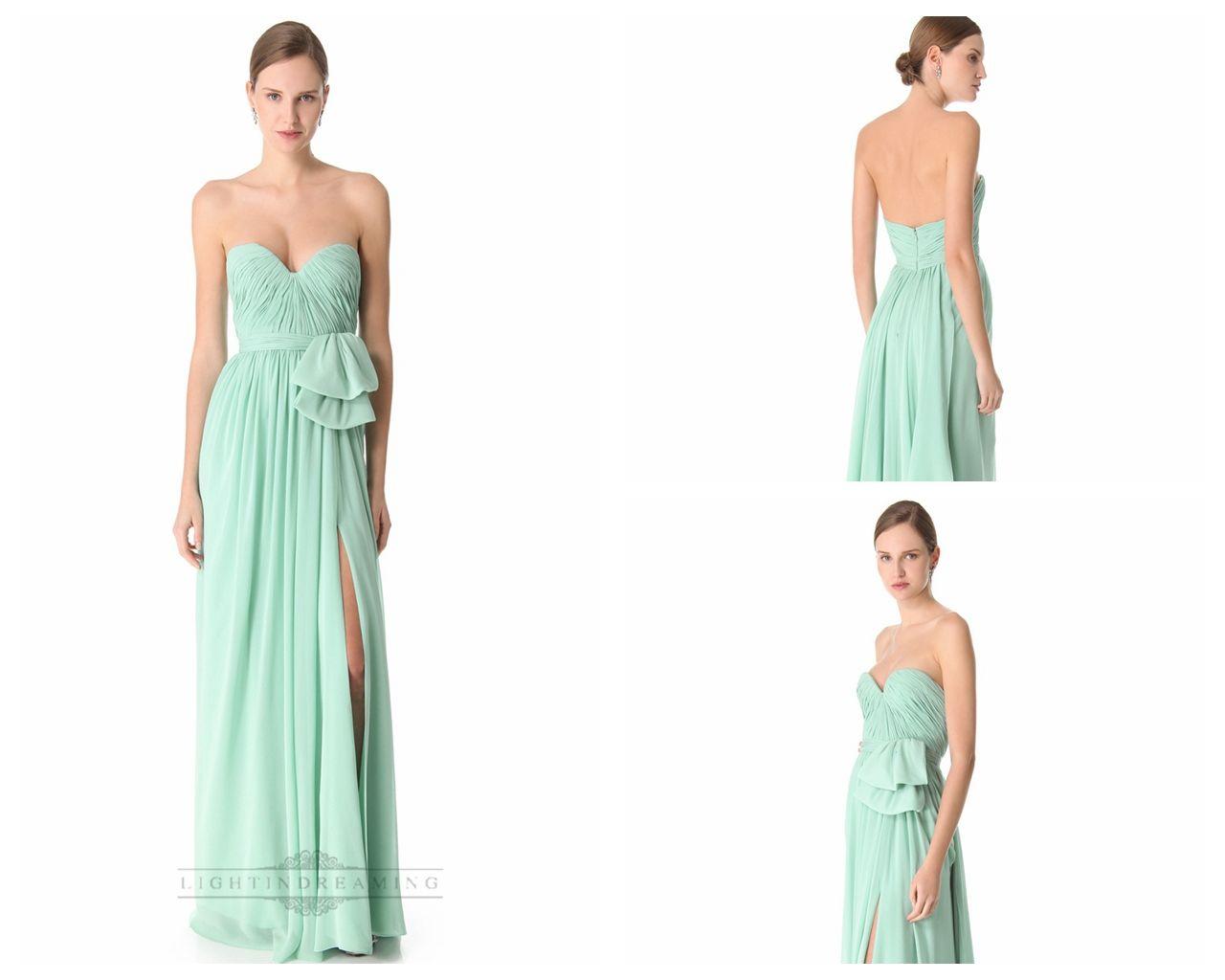 Sweetheart Ruched Bodice Thigh-high Slit Long Prom Dresses / Evening Dresses http://www.ckdress.com/sweetheart-ruched-bodice-thighhigh-slit-long-prom-dresses-evening-dresses-p-450.html  #wedding #dresses #dress #lightindream #lightindreaming #wed #clothing #gown #weddingdresses #dressesonline #dressonline #bride