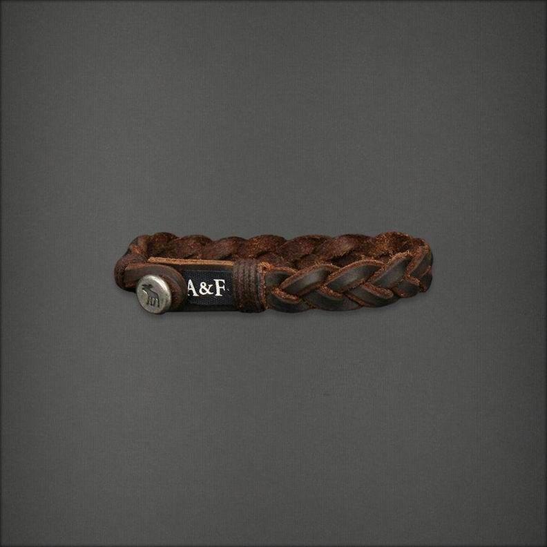 Abercrombie & Fitch Brown Bracelet afbrace035