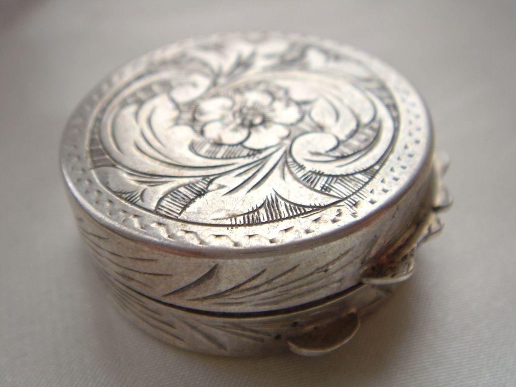 antique pill box & 25+ unique Pill boxes ideas on Pinterest | Dorm ideas Smart box ... Aboutintivar.Com