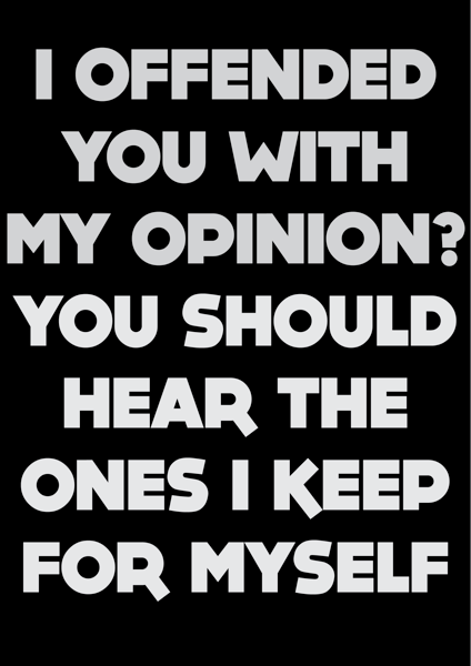 Opinion....