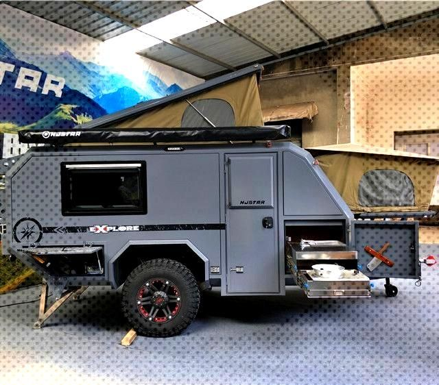 Source 2018 New Model Off Road Camper Trailer with Tent 0086-13872885200 on ... - Source 2018 New