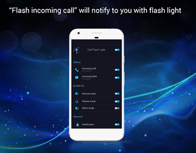 """Check out new work on my @Behance portfolio: """"Flash incoming call"""" http://be.net/gallery/52723281/Flash-incoming-call"""