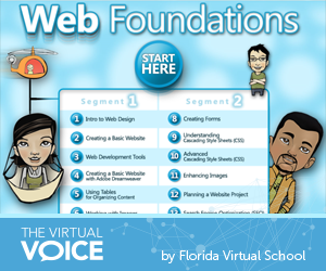 Foundations Of Web Design The Virtual Voice Web Design Florida Virtual School High School Students