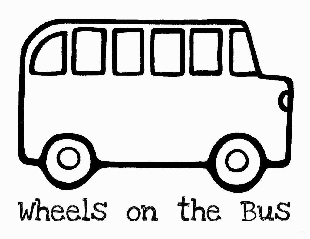 Coloring pages transportation themes - School Bus Coloring Sheet