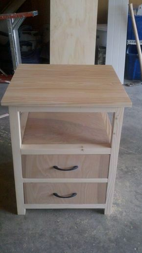 First nightstand do it yourself home projects from ana white first nightstand do it yourself home projects from ana white woodworkingtips woodworking tips pinterest ana white nightstands and woodworking keyboard keysfo Images