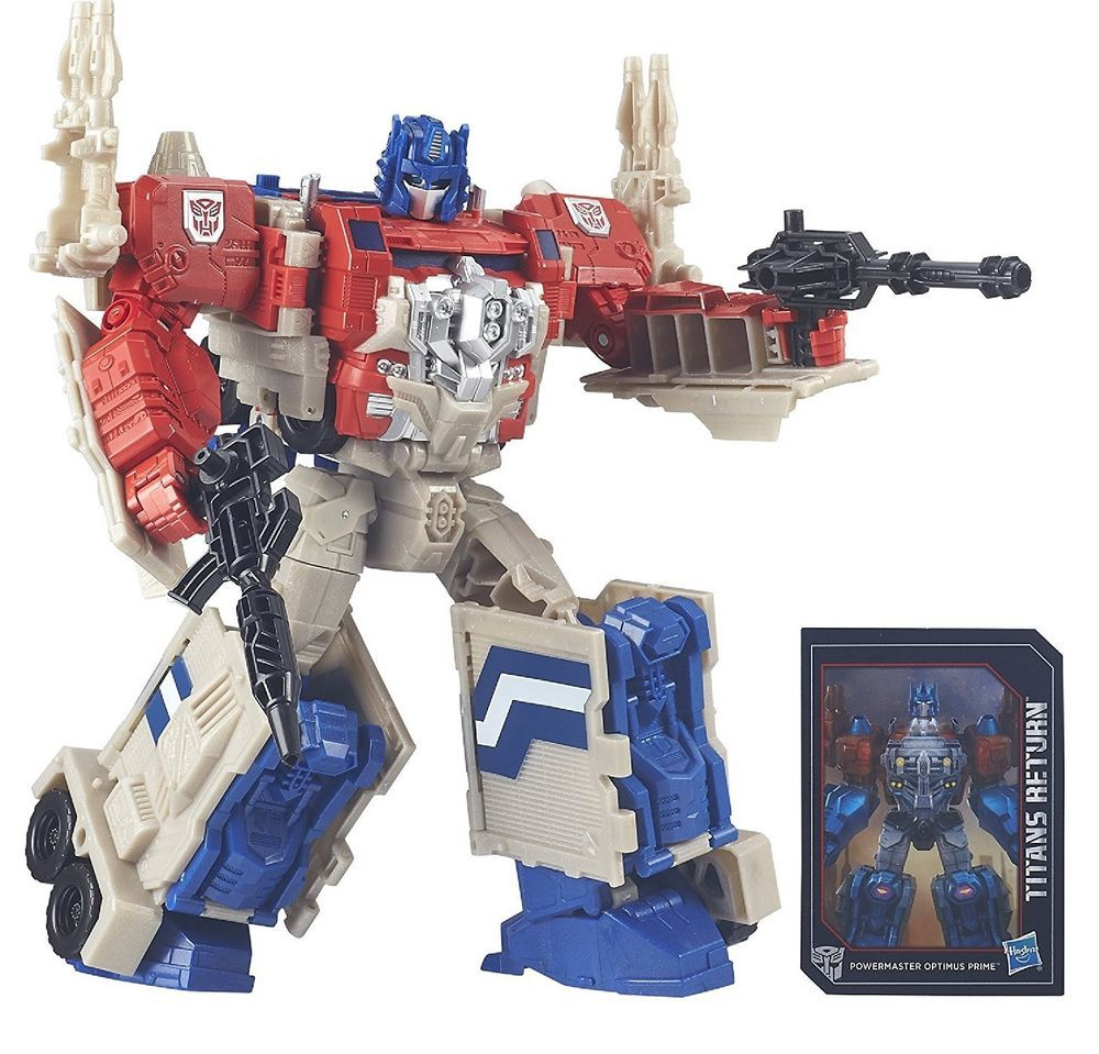 transformers dark of the moon voyager powermaster optimus prime