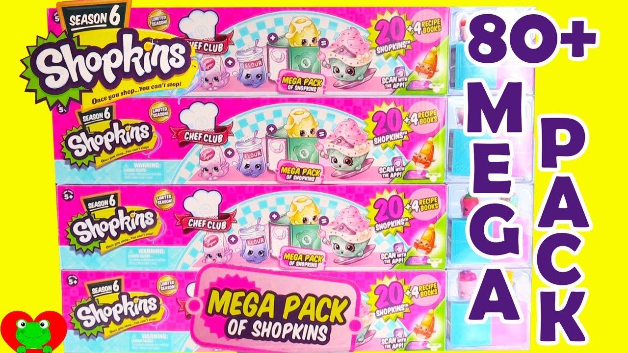 Shopkins Season 6 Mega Packs With Color Changing 12 Pack Shopkins Season Shopkins Shopkins Season 6
