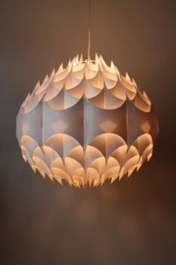 Lampe VEST Austria, Mod. Rythmic by M. Havlova 60er Mid