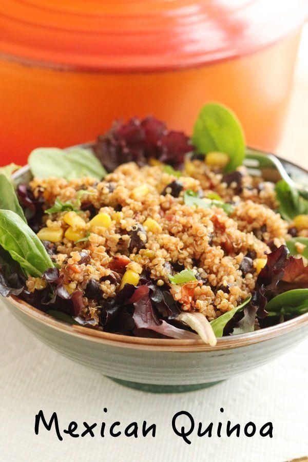 Photo of Mexican Quinoa Recipe