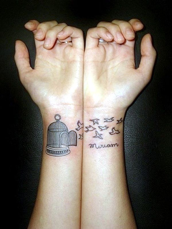 100 Ideas For Wrist Tattoo You Are Unique In The Trend Cute Tattoos On Wrist Cage Tattoos Friend Tattoos