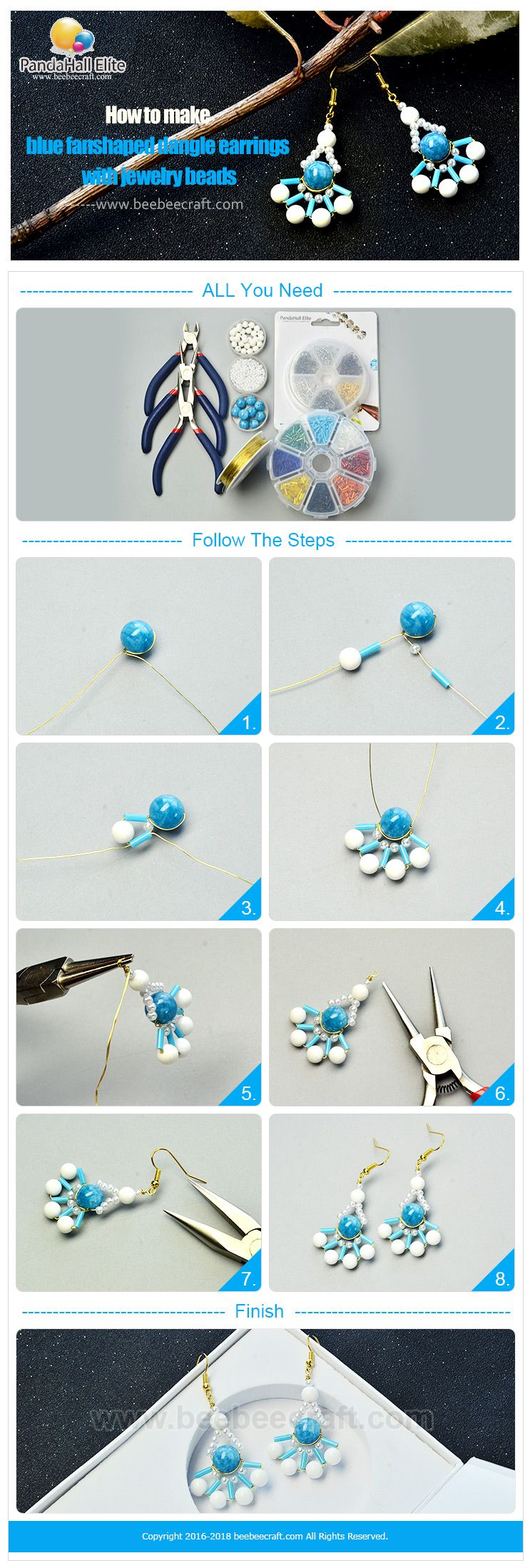 beaded tutorial beads to buy how video pandahall watch making jewelry online spiral youtube make premium