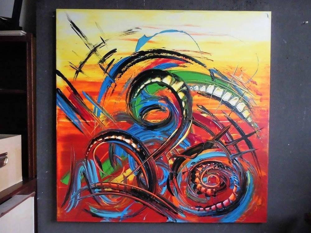 Gemälde Kunst bild abstrakt acryl bilder modern gemälde xl kunst original deko