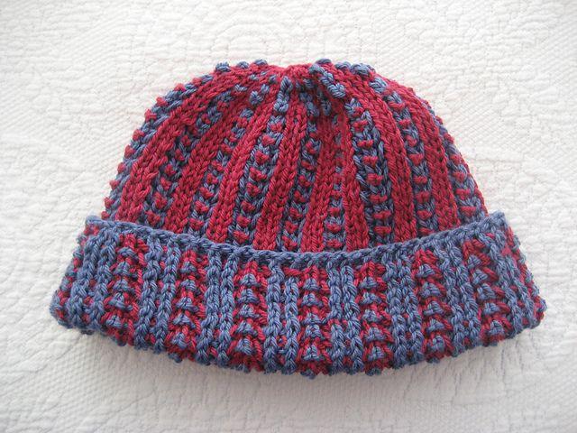Waterlooplein Watch Cap Pattern By Nancy Marchant Knit Brioche