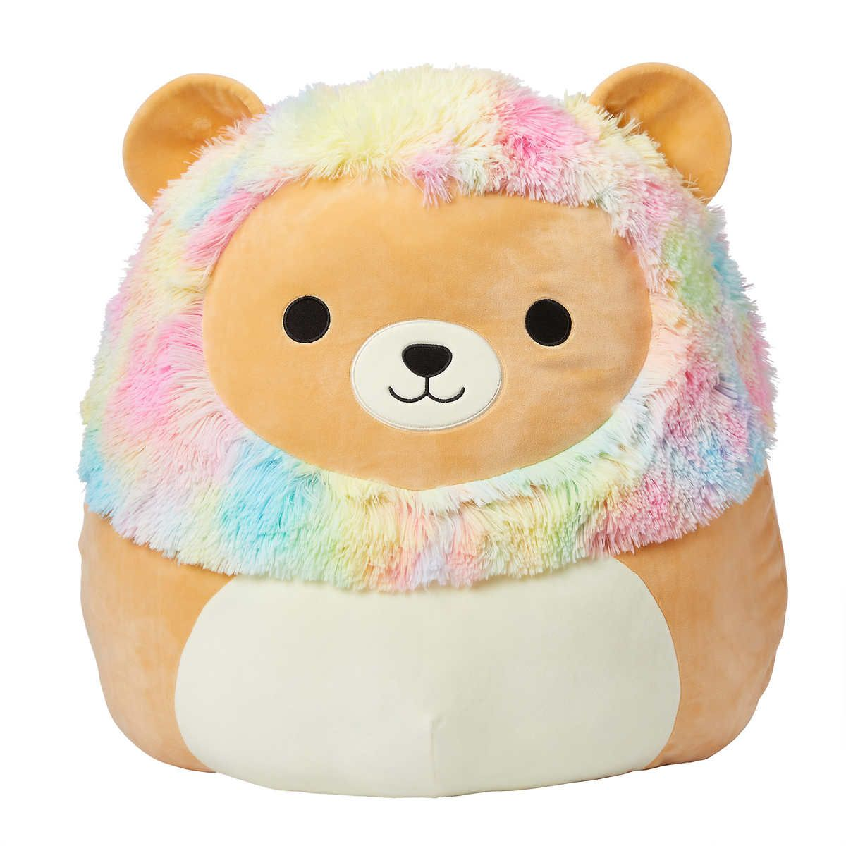 Jumbo Squishmallows 24 Plush Lion Plush Cuddly Huggable