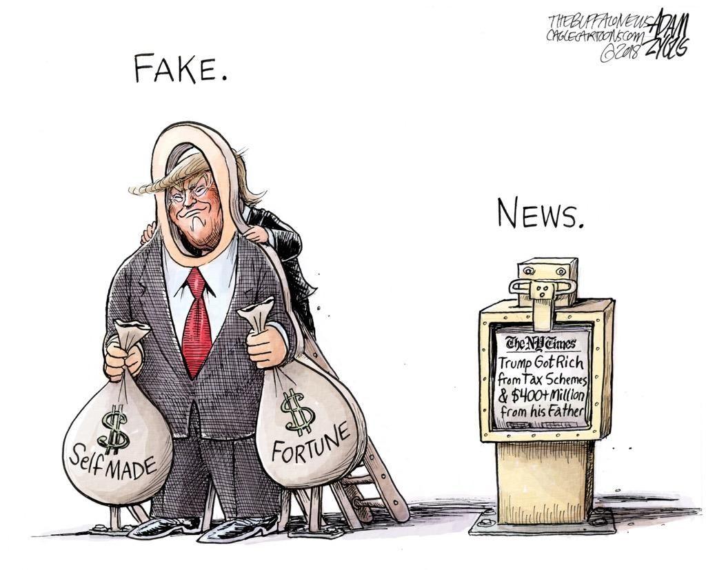 DT Barnum PoliticalHumor Trump taxes, Editorial