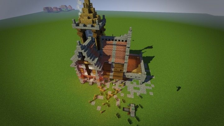 medieval mondays 3 small house minecraft project - Smallest House In The World Minecraft