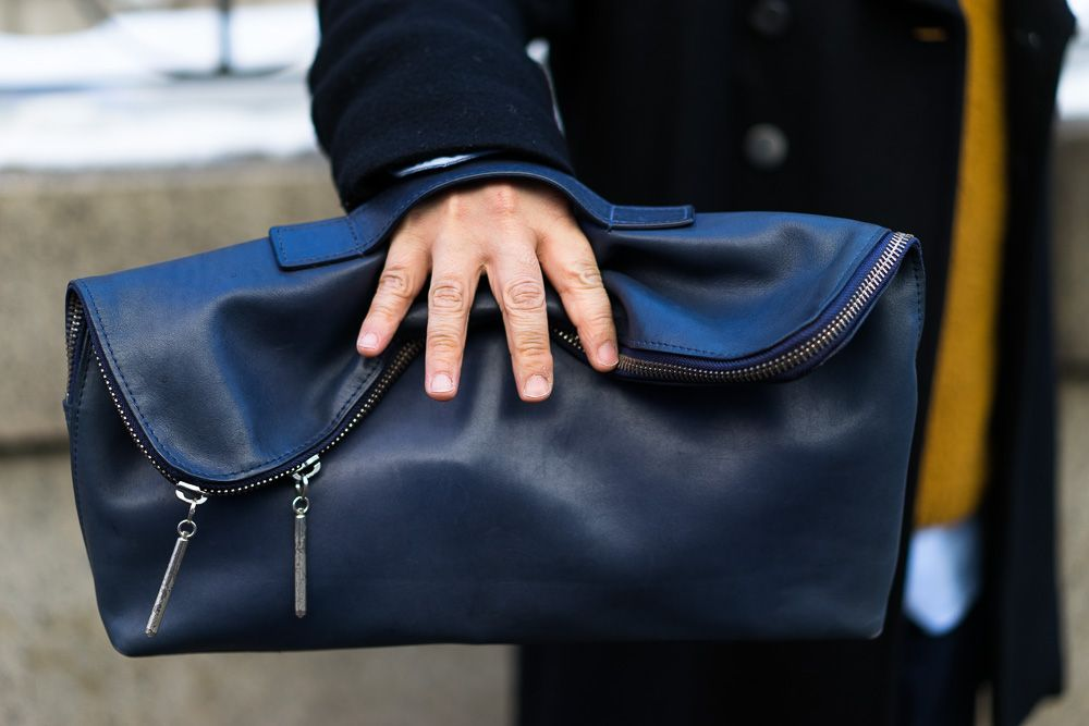 3.1 Phillip Lim 31 Minute Clutch. NY Fashion Week. #NYFW image: purseblog.com