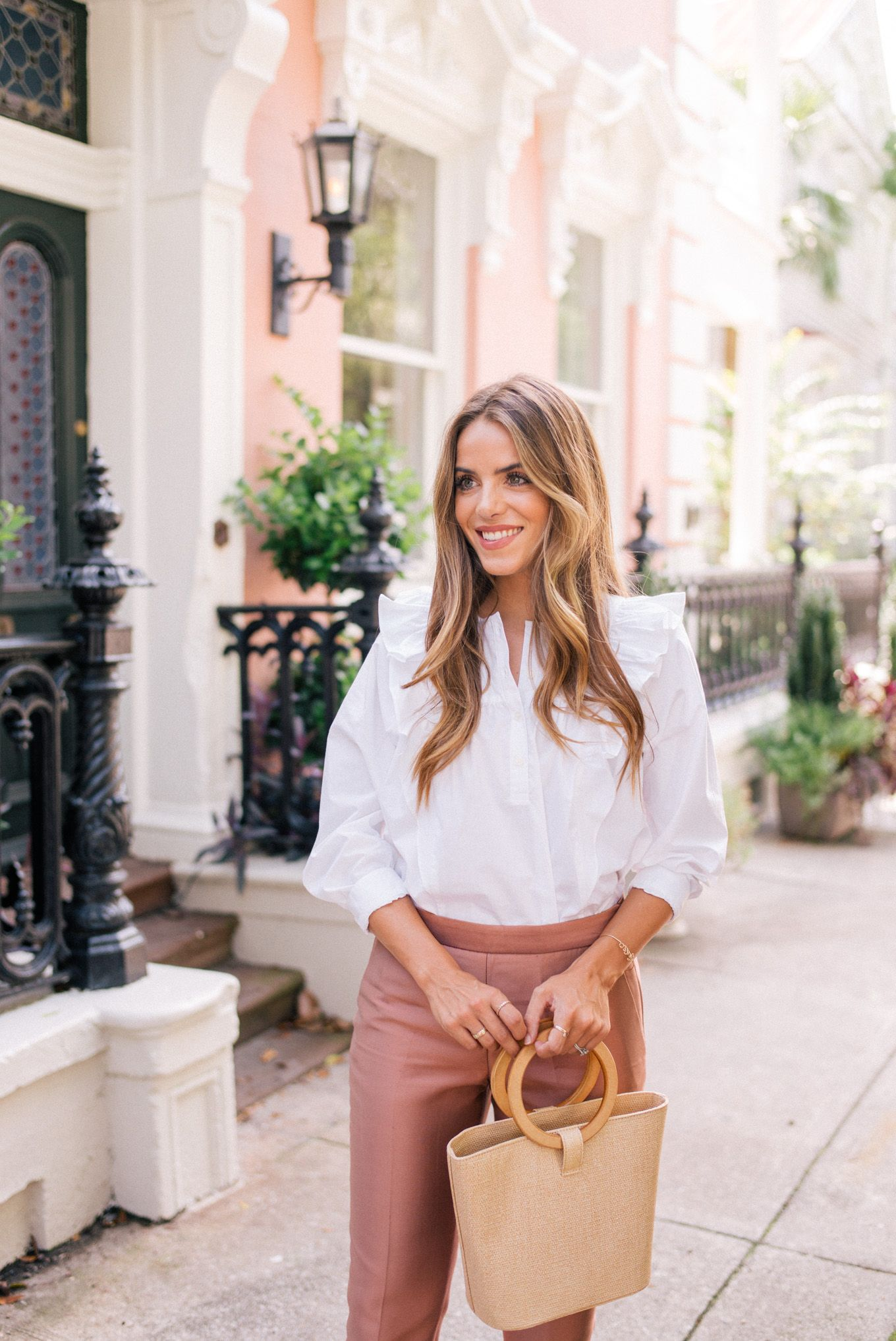 8d8eda31e86fb Luxe Fabrics For Fall. Gal Meets Glam J.Crew top