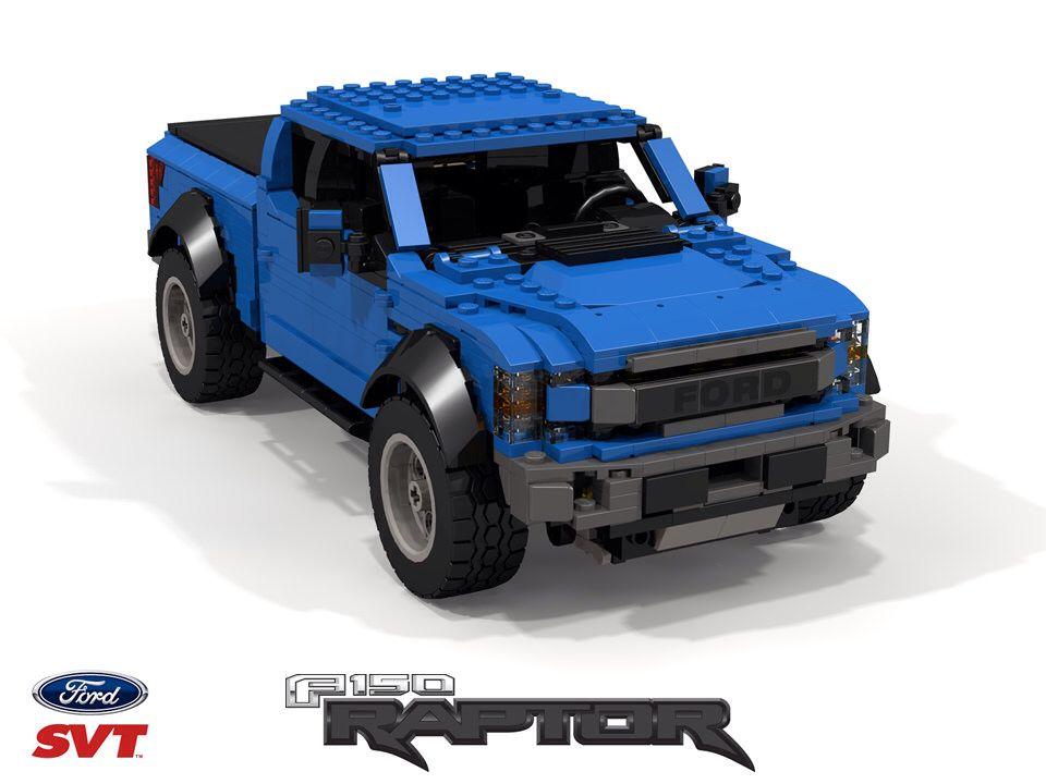 2017 Ford F150 Svt Raptor P552 Lego Cars Lego Truck Lego Wheels