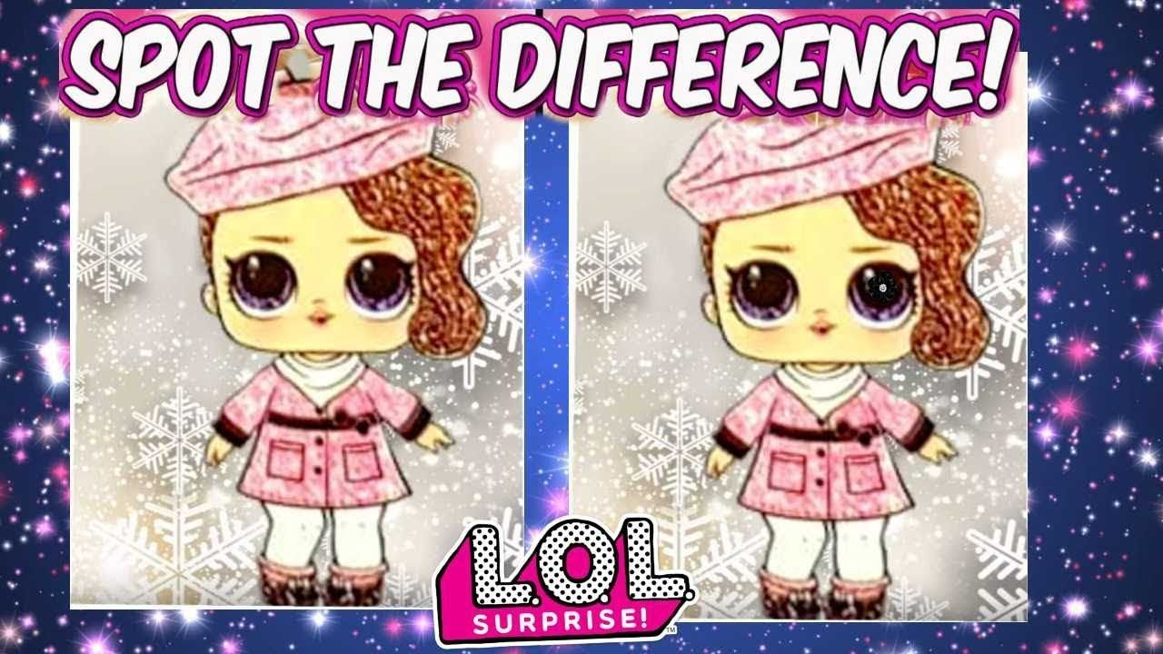 Lol Surprise Bling Series Dolls Spot The Difference Game