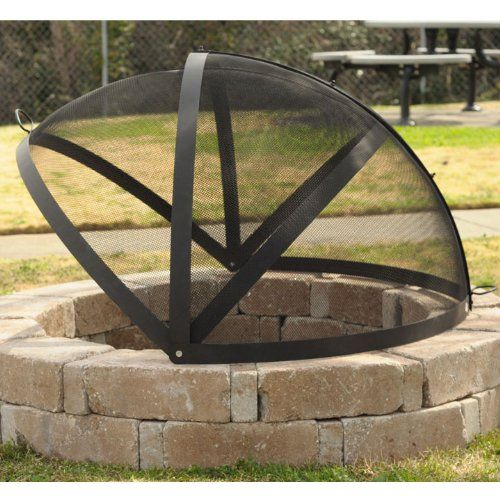 36 Firepit Screen With Images Backyard Fire Fire Pit Backyard Fire Pit Spark Screen